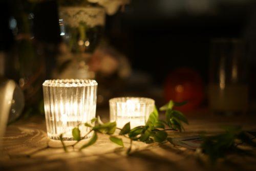 結婚式の演出の装飾