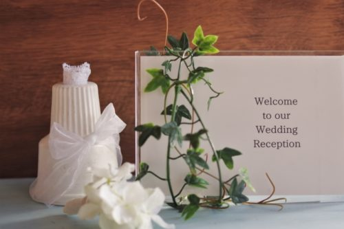 結婚式のオリジナル演出の様子