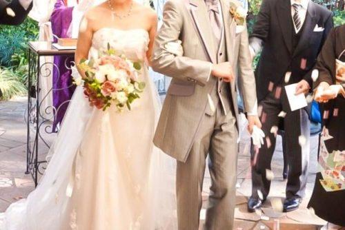 結婚式で花嫁の手紙を読まない様子