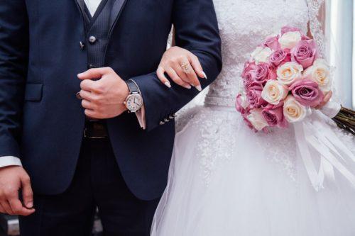 結婚式で花嫁の手紙を読む前の様子